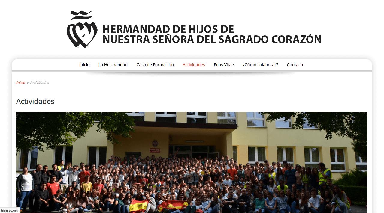 Web de La Hermandad